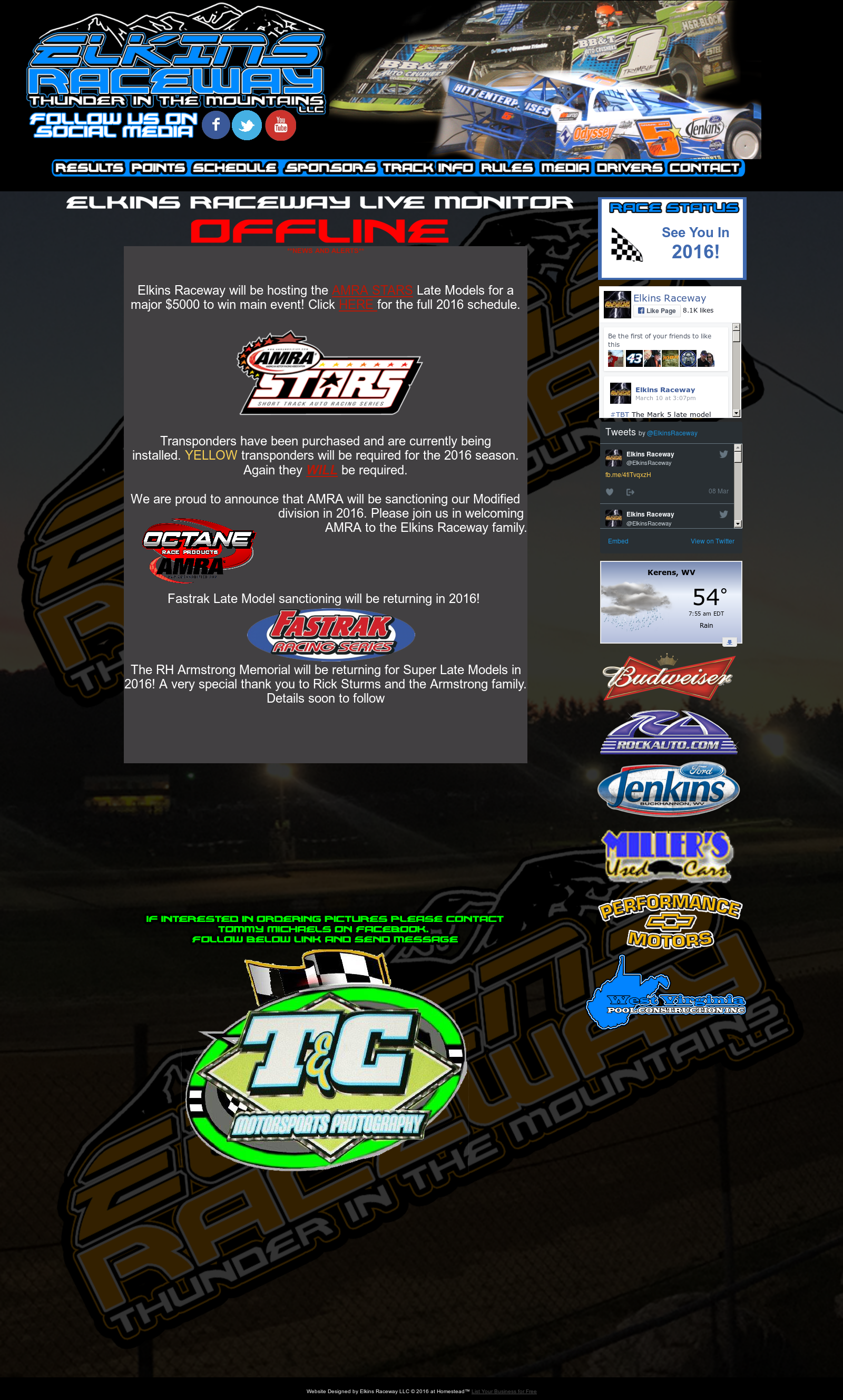Elkins Raceway Competitors, Revenue and Employees - Owler