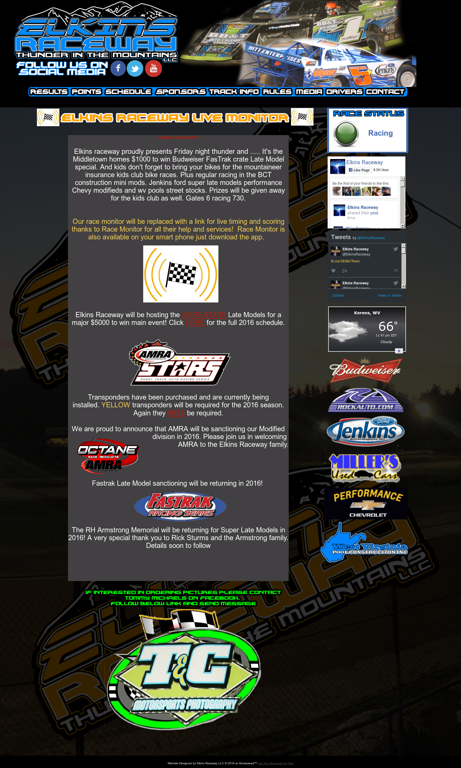 Elkins Raceway Competitors, Revenue and Employees - Owler Company