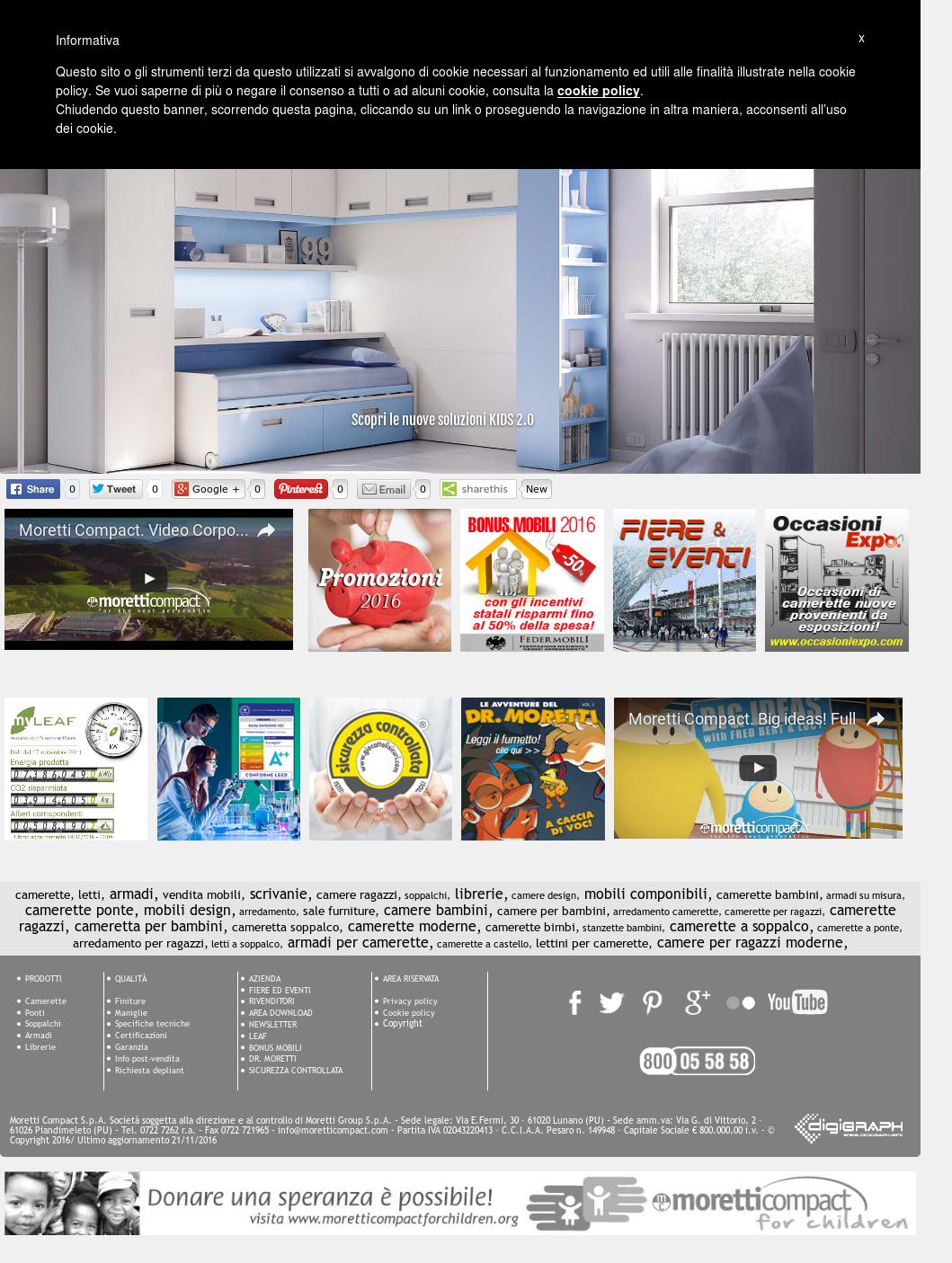 Librerie Per Camerette Bambini moretti compact spa competitors, revenue and employees