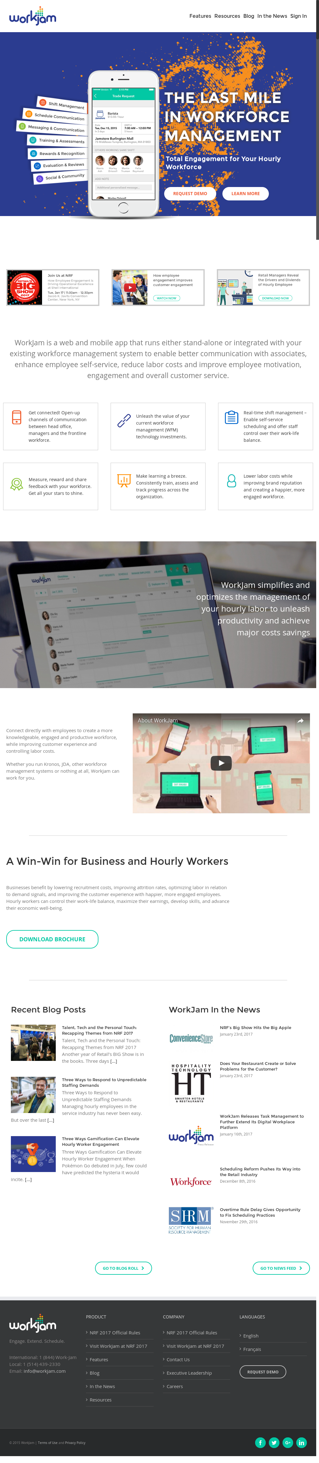 WorkJam Competitors, Revenue and Employees - Owler Company