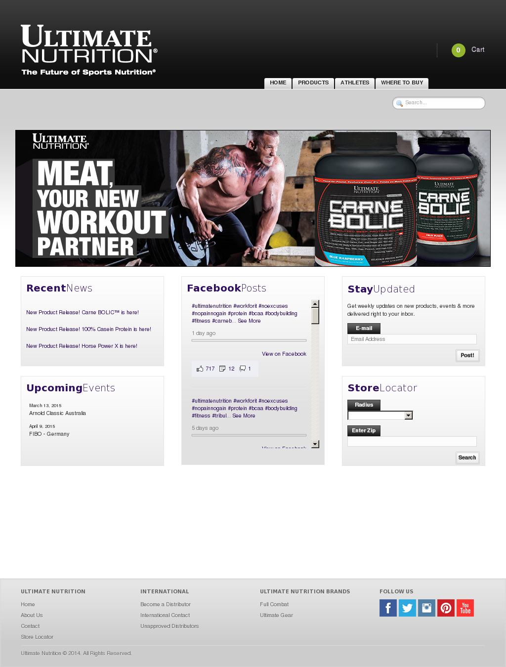 Ultimate Nutrition Competitors Revenue And Employees Owler Carnebolic Beef Company Profile