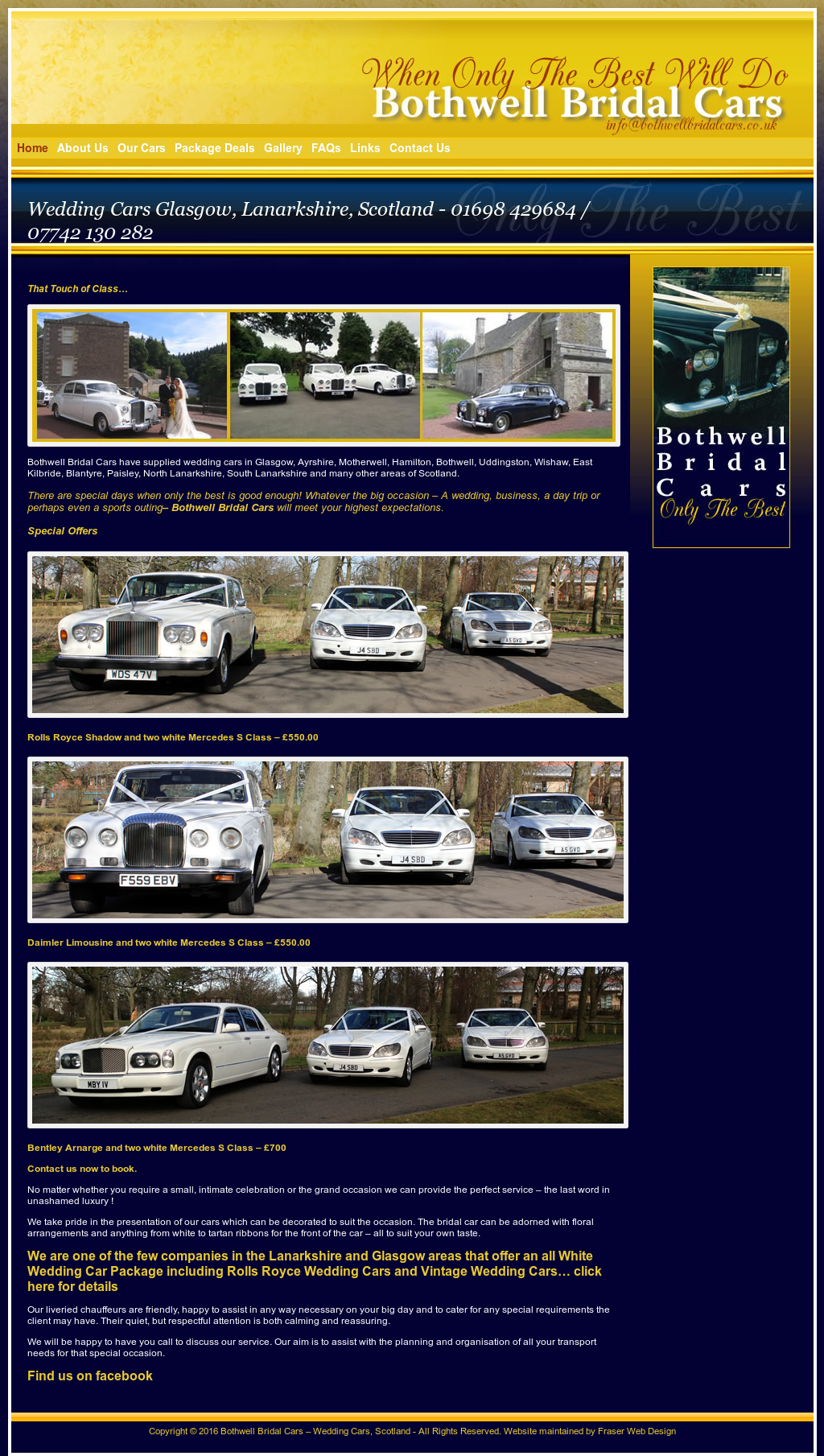 Bothwell Bridal And Wedding Cars Compeors Revenue Employees Owler Company Profile