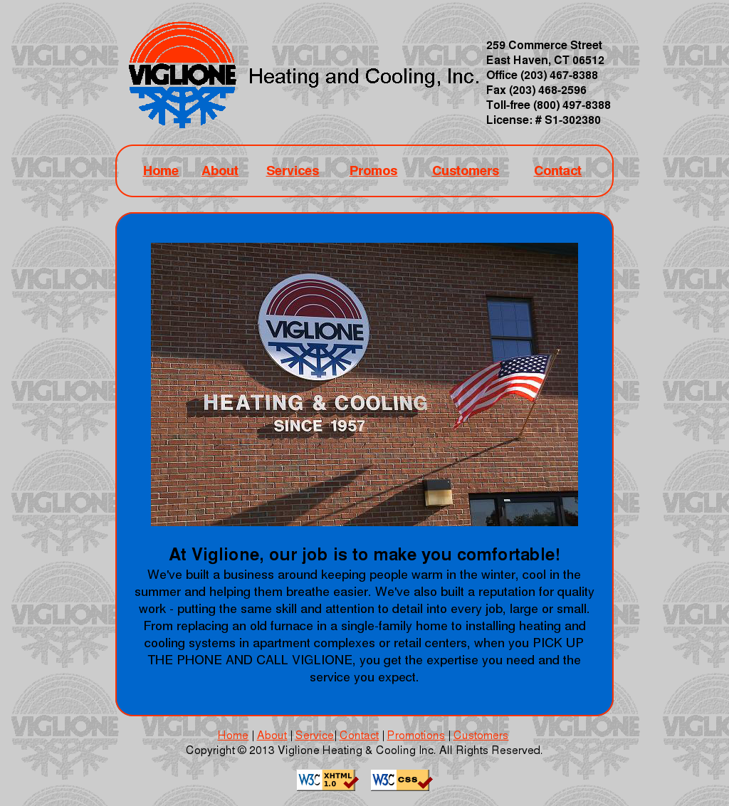 Viglione Heating Cooling Compeors Revenue And Employees Owler Company Profile