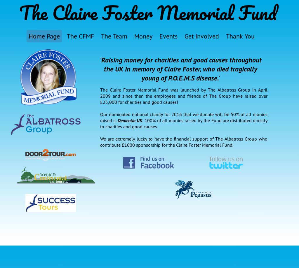 Claire Foster Memorial Fund Competitors, Revenue and