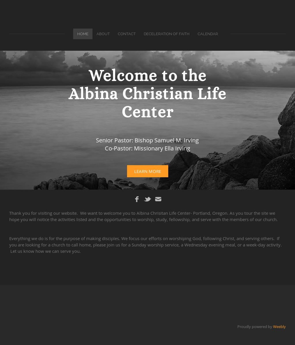 Albina Christian Life Center Competitors, Revenue and