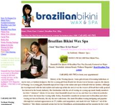 Brazillian bikini waxing scottsdale arizona
