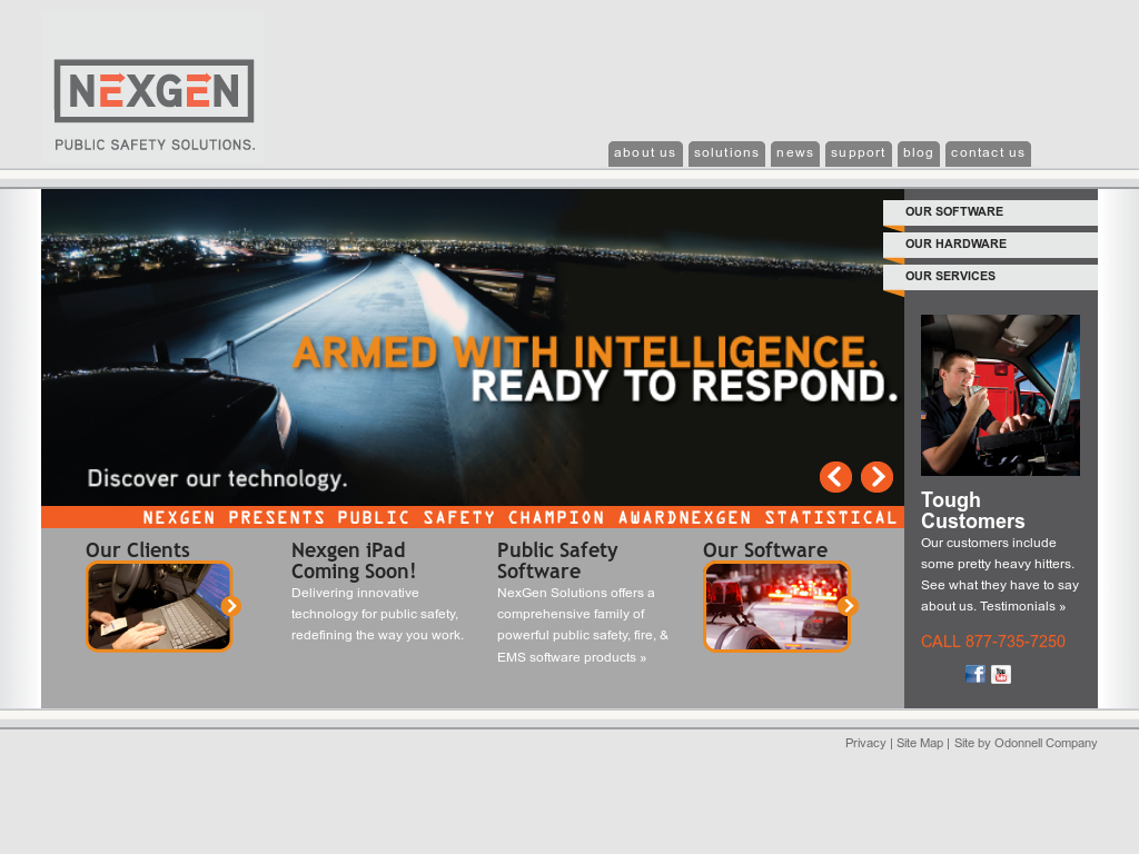 NexGen Public Safety Solutions Competitors, Revenue and