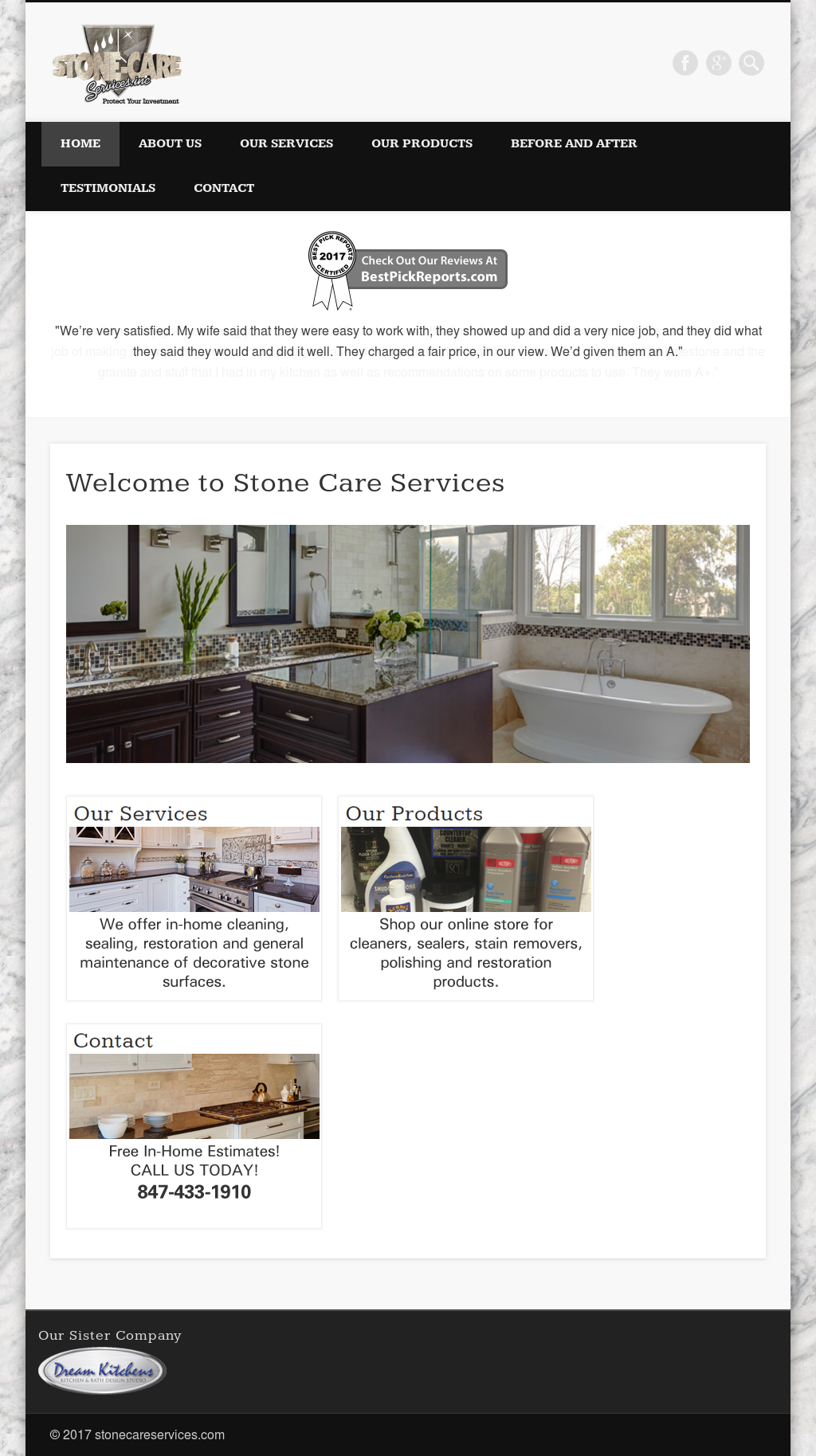 Stone-Care Services Competitors, Revenue and Employees - Owler