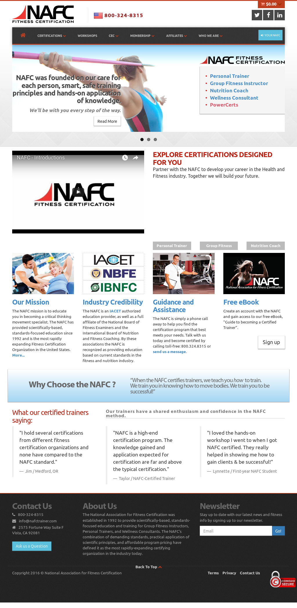 Nafctrainer Competitors Revenue And Employees Owler Company Profile