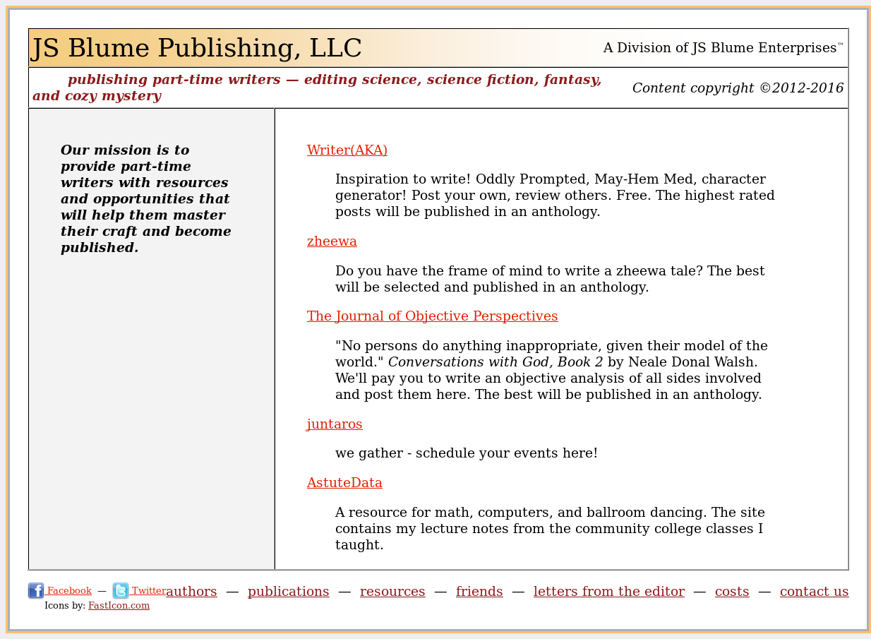 Js Blume Publishing Competitors, Revenue and Employees - Owler