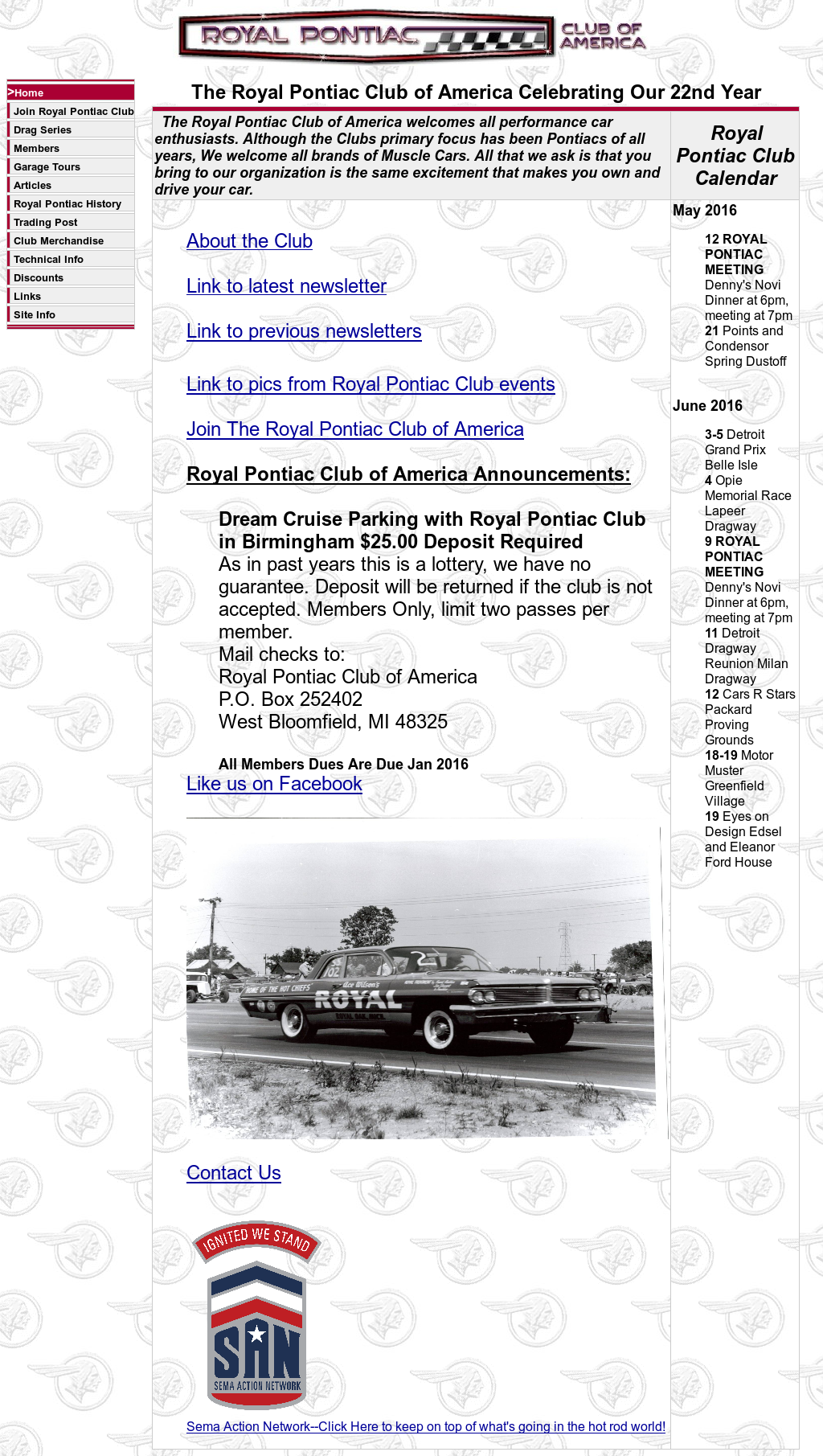 Royal Pontiac Club Of America Competitors, Revenue and Employees