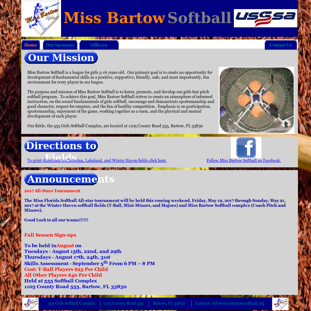 Miss Bartow Softball Competitors, Revenue and Employees