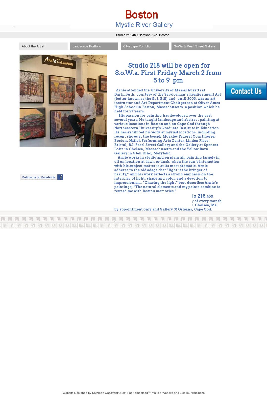 Arnie Casavant Dba Mystic River Gallery Competitors, Revenue