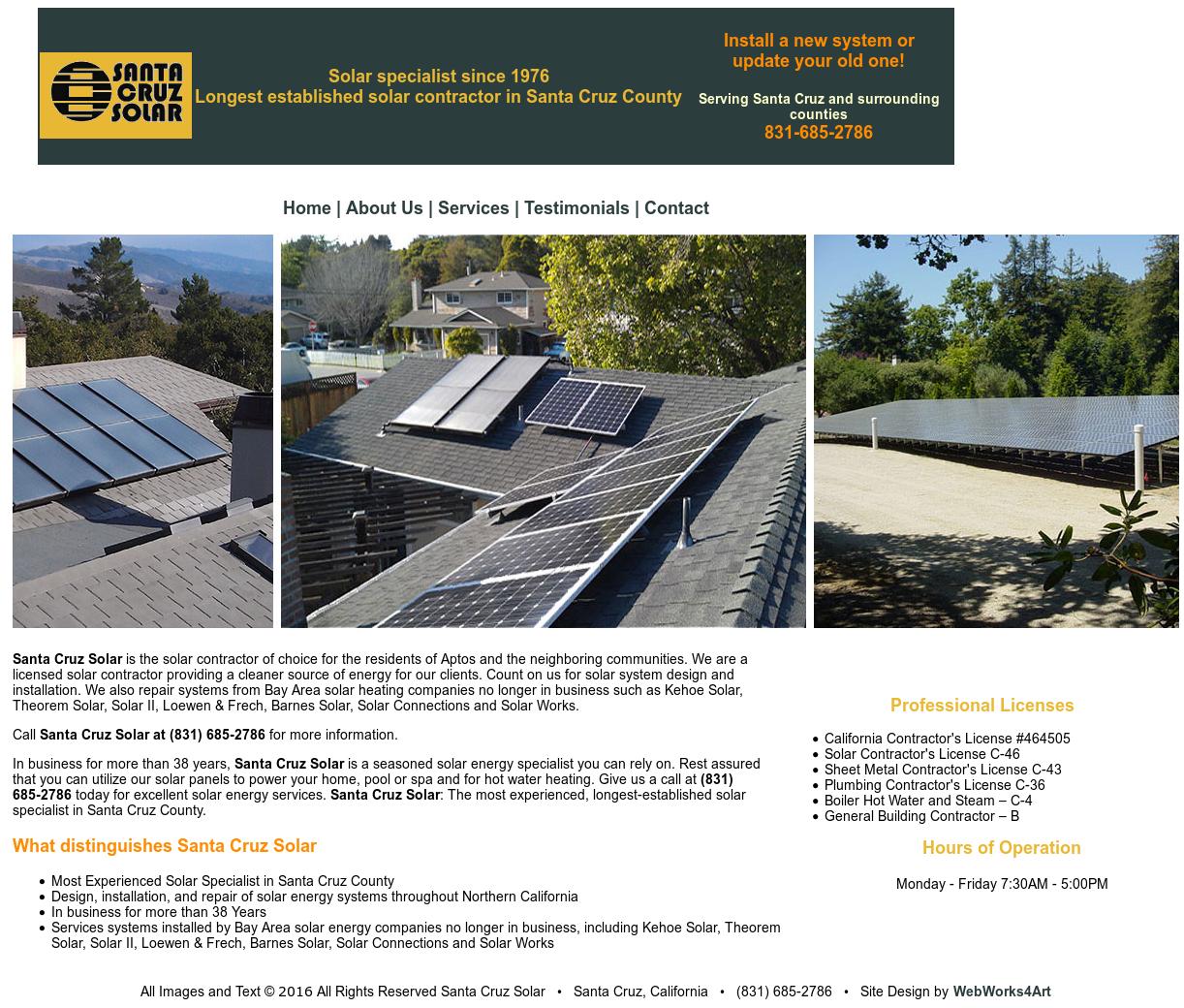 Santa Cruz Solar Competitors, Revenue and Employees - Owler