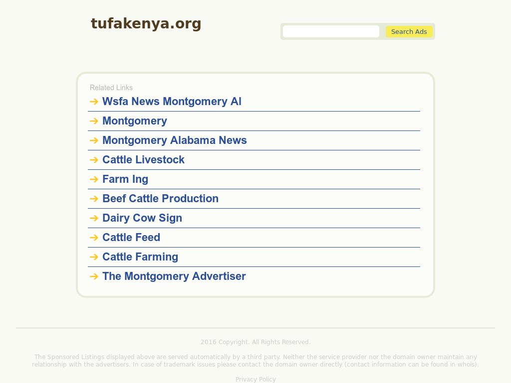 Tuna Fisheries Alliance Of Kenya - Tufak Competitors