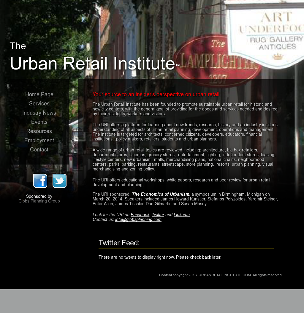 Urban Retail Institute Competitors, Revenue and Employees - Owler