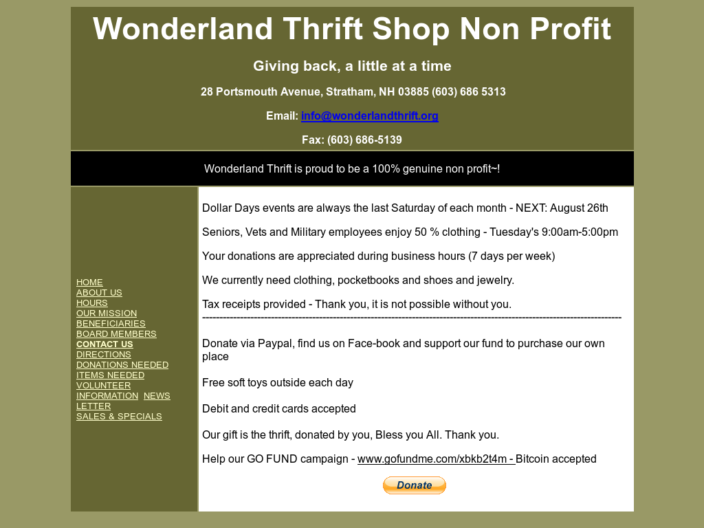 Wonderland Thrift Competitors, Revenue and Employees - Owler