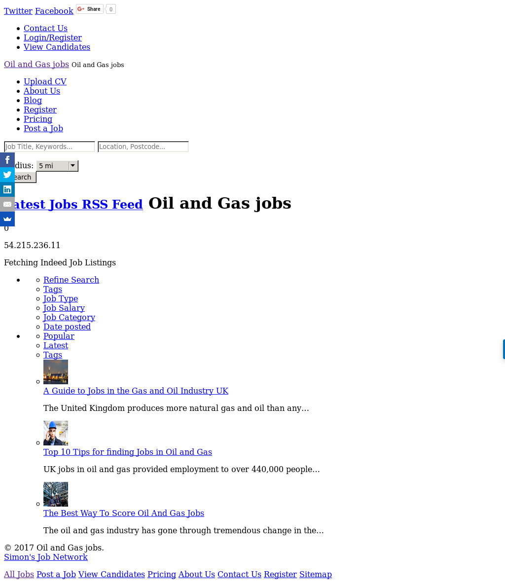 Jobs In Oil And Gas Competitors, Revenue and Employees