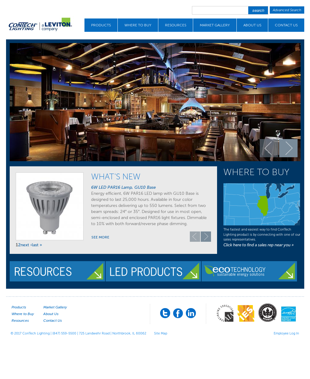 Con tech lighting competitors revenue and employees owler company