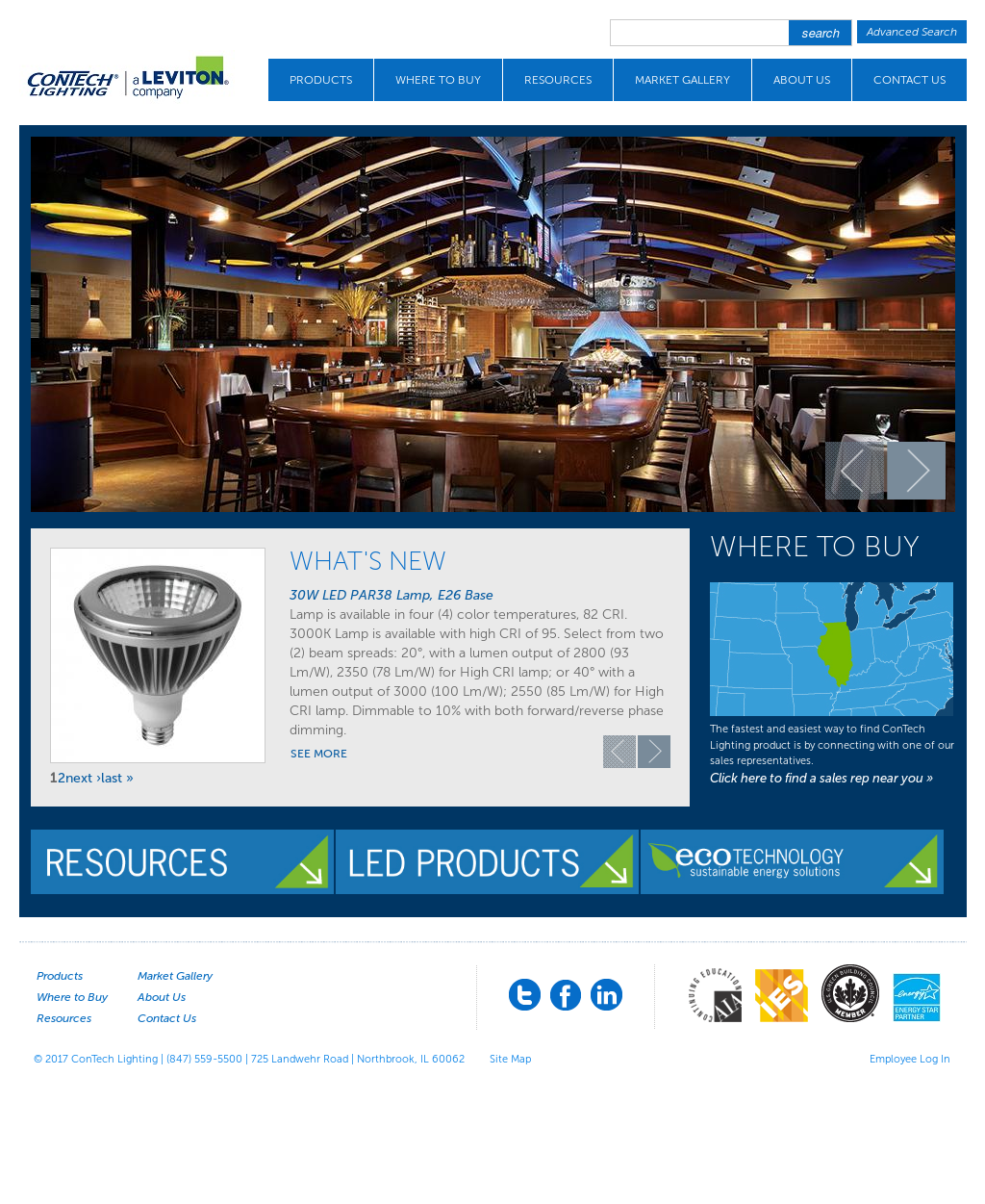 Con-Tech Lighting website history  sc 1 st  Owler & Con-Tech Lighting Competitors Revenue and Employees - Owler Company ...