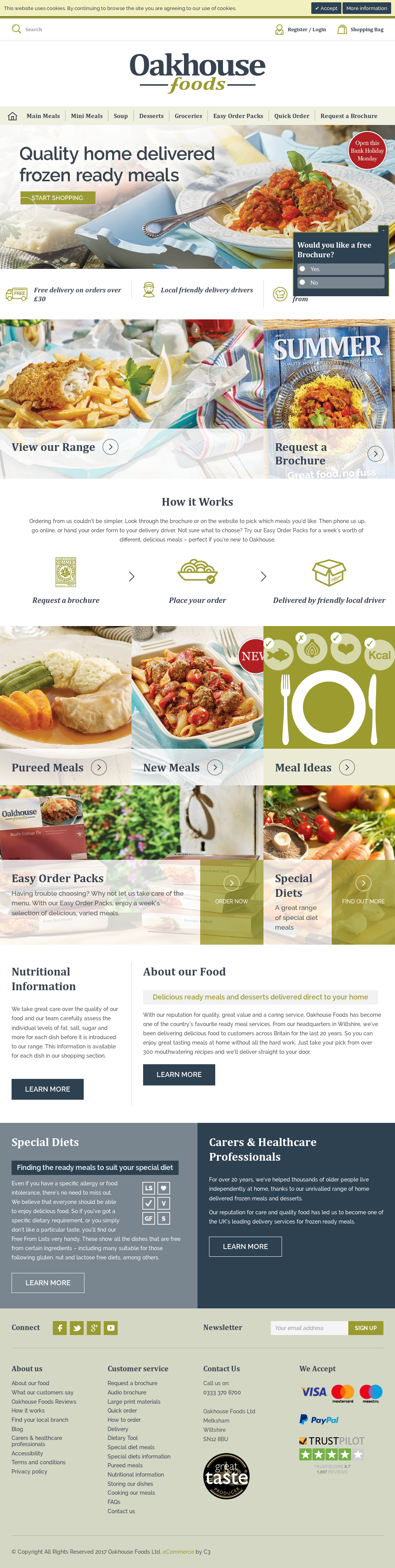 Oakhousefoods Competitors, Revenue and Employees - Owler Company Profile