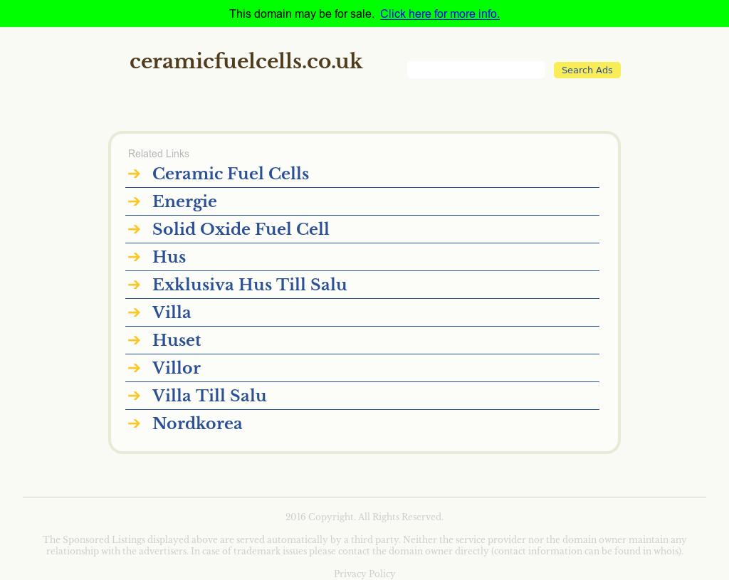 Ceramic Fuel Cells Aktie