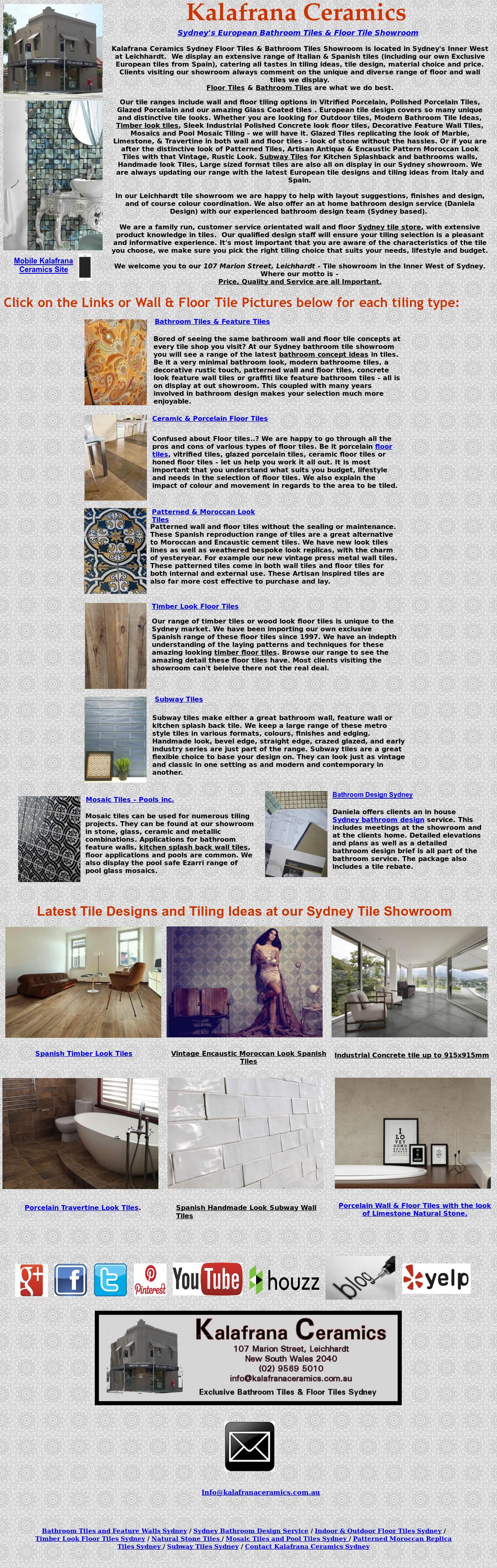 Kalafrana Ceramics Tiles Sydney Competitors, Revenue and Employees ...