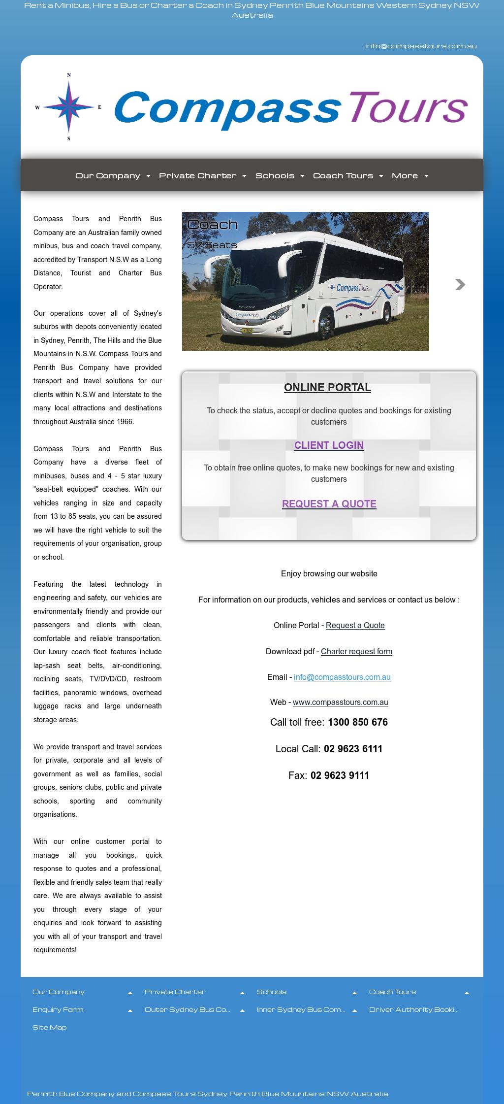 Compass Tours And Penrith Bus Company Competitors, Revenue