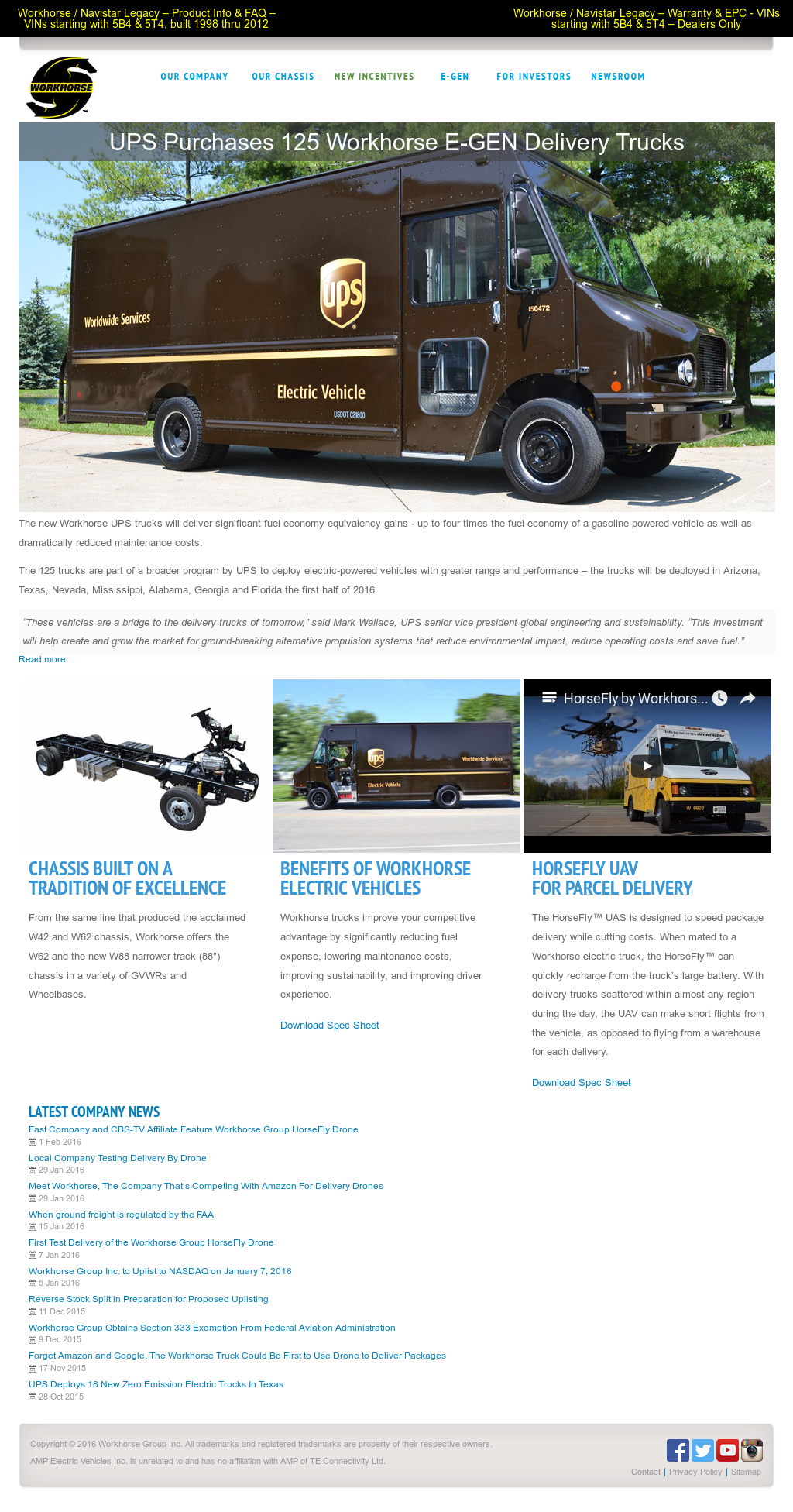 Workhorse Competitors, Revenue and Employees - Owler Company Profile