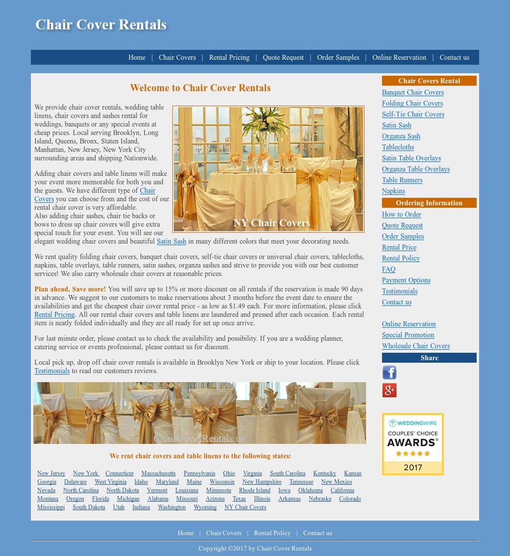 Admirable Chair Cover Rentals Competitors Revenue And Employees Frankydiablos Diy Chair Ideas Frankydiabloscom