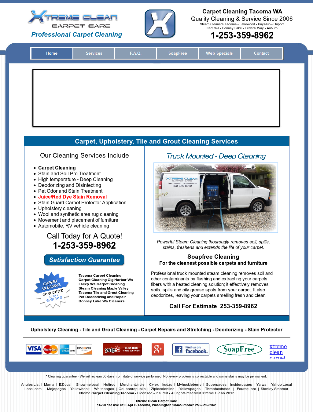 Xtreme Clean Carpet Care Competitors, Revenue and Employees