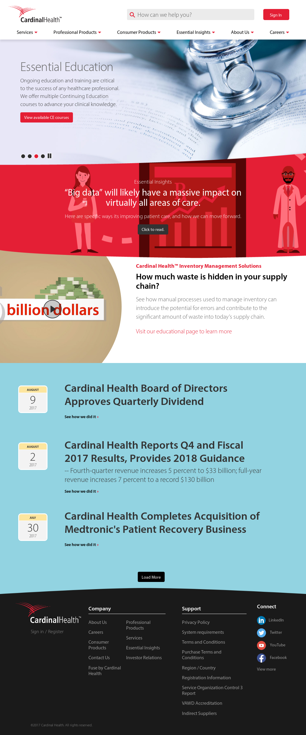 Cardinalhealth Competitors, Revenue and Employees - Owler