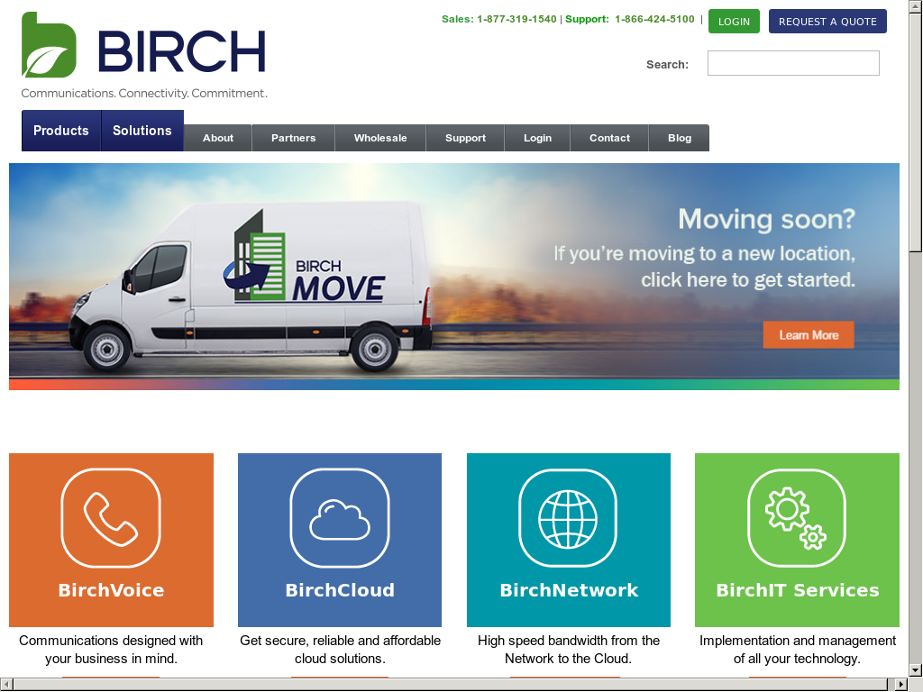 Birch Communications Competitors, Revenue and Employees