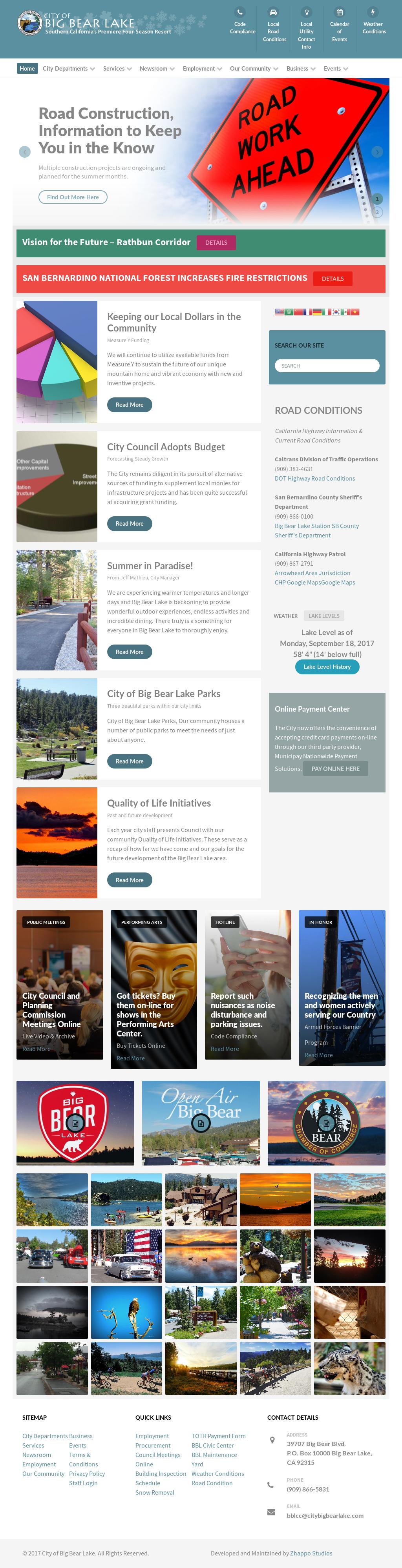Big Bear California Map Google.City Of Big Bear Lake Competitors Revenue And Employees Owler