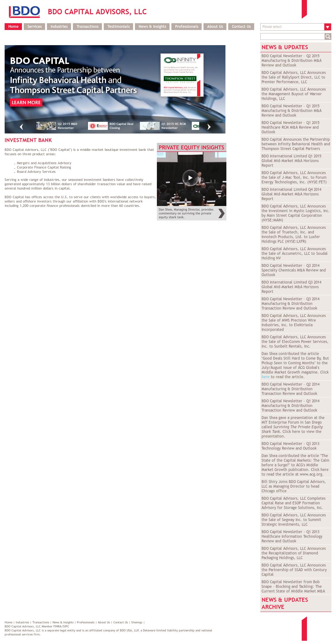 BDO Capital Advisors Competitors, Revenue and Employees - Owler
