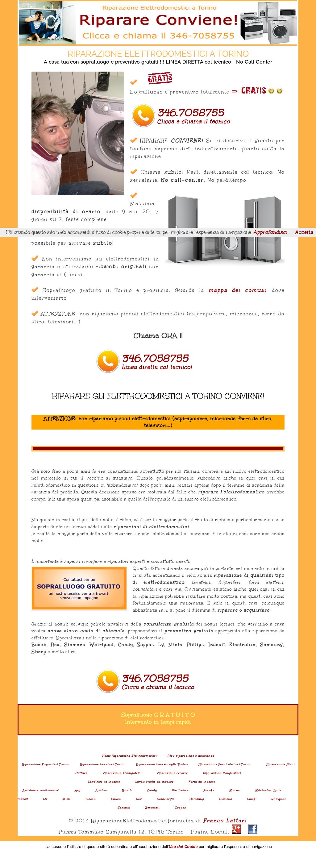 Riparazione Elettrodomestici Torino Competitors, Revenue and ...