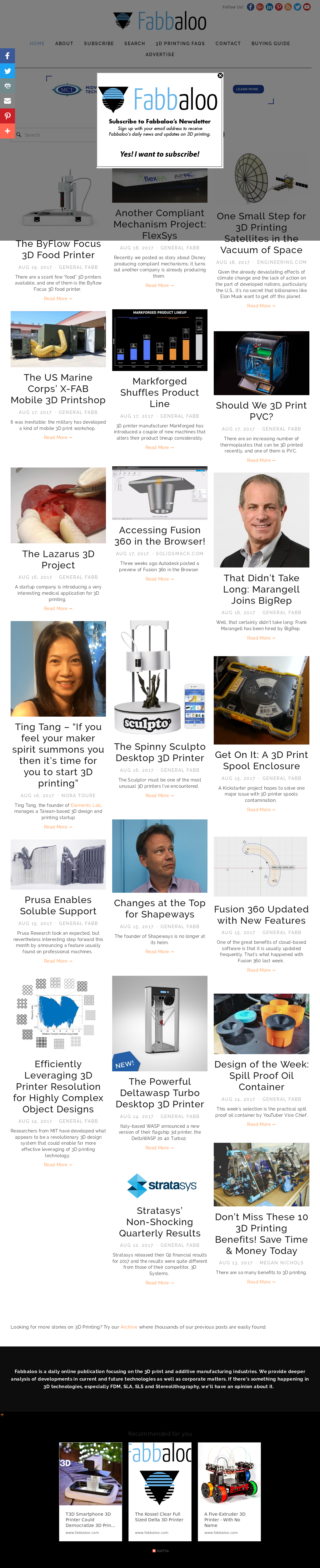 Owler Reports - Fabbaloo Blog Instantly 3D Print Cities with