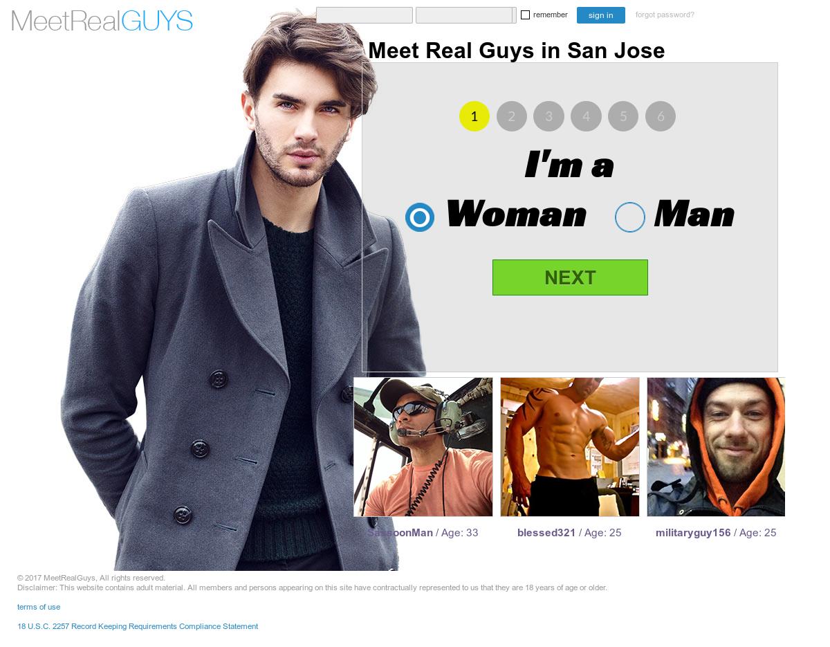 Meetrealguys website