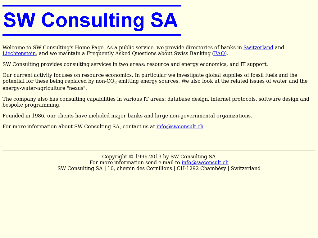 Sw Consulting Sa Competitors, Revenue and Employees - Owler