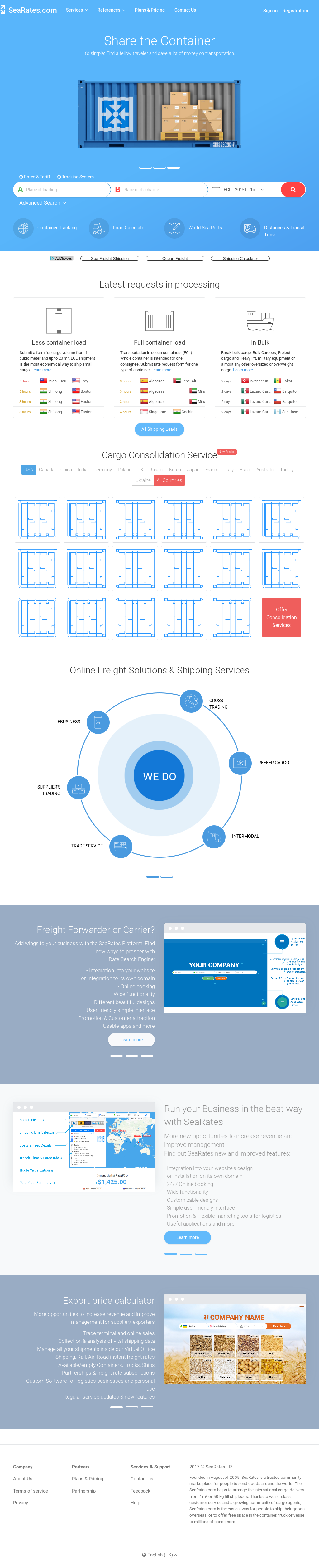 SeaRates Competitors, Revenue and Employees - Owler Company Profile