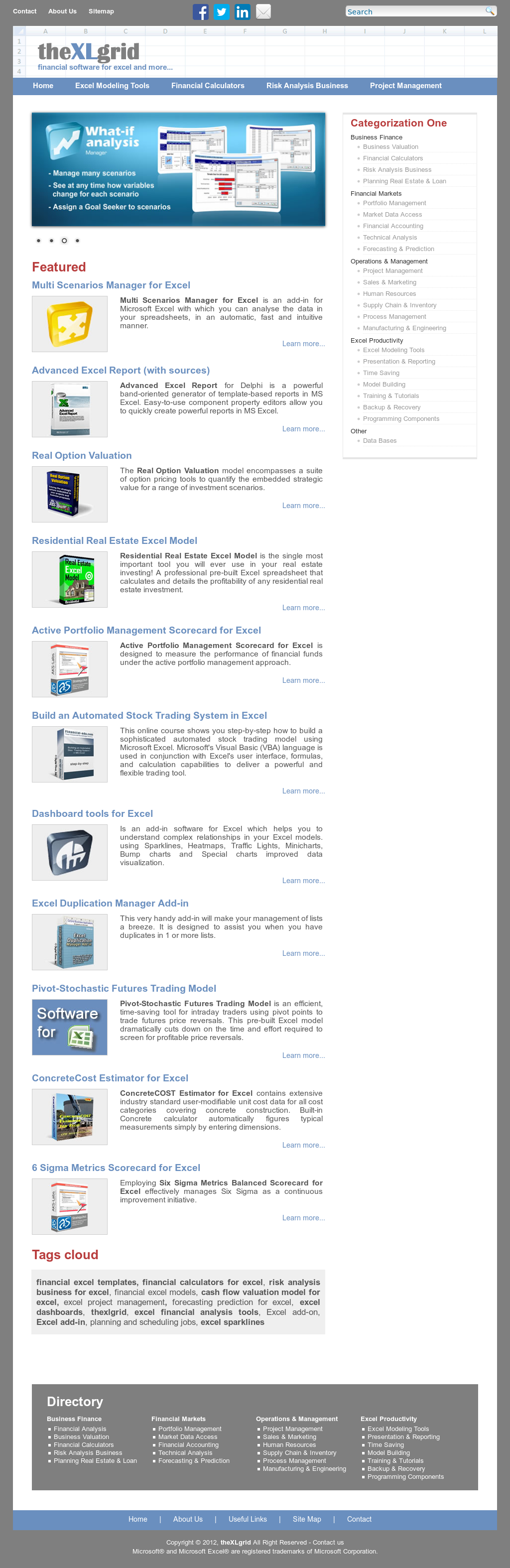 Building Valuation Report Format In Excel