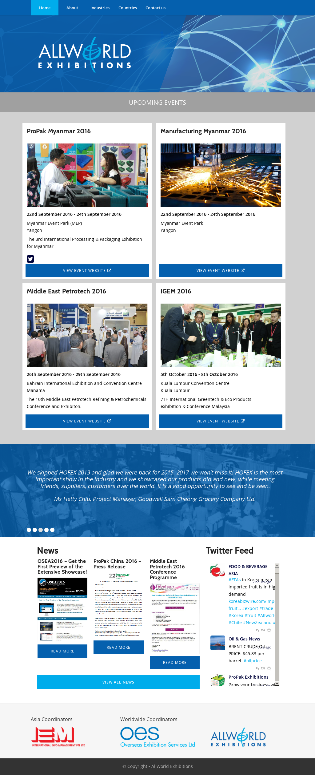 AllWorld Exhibitions Competitors, Revenue and Employees