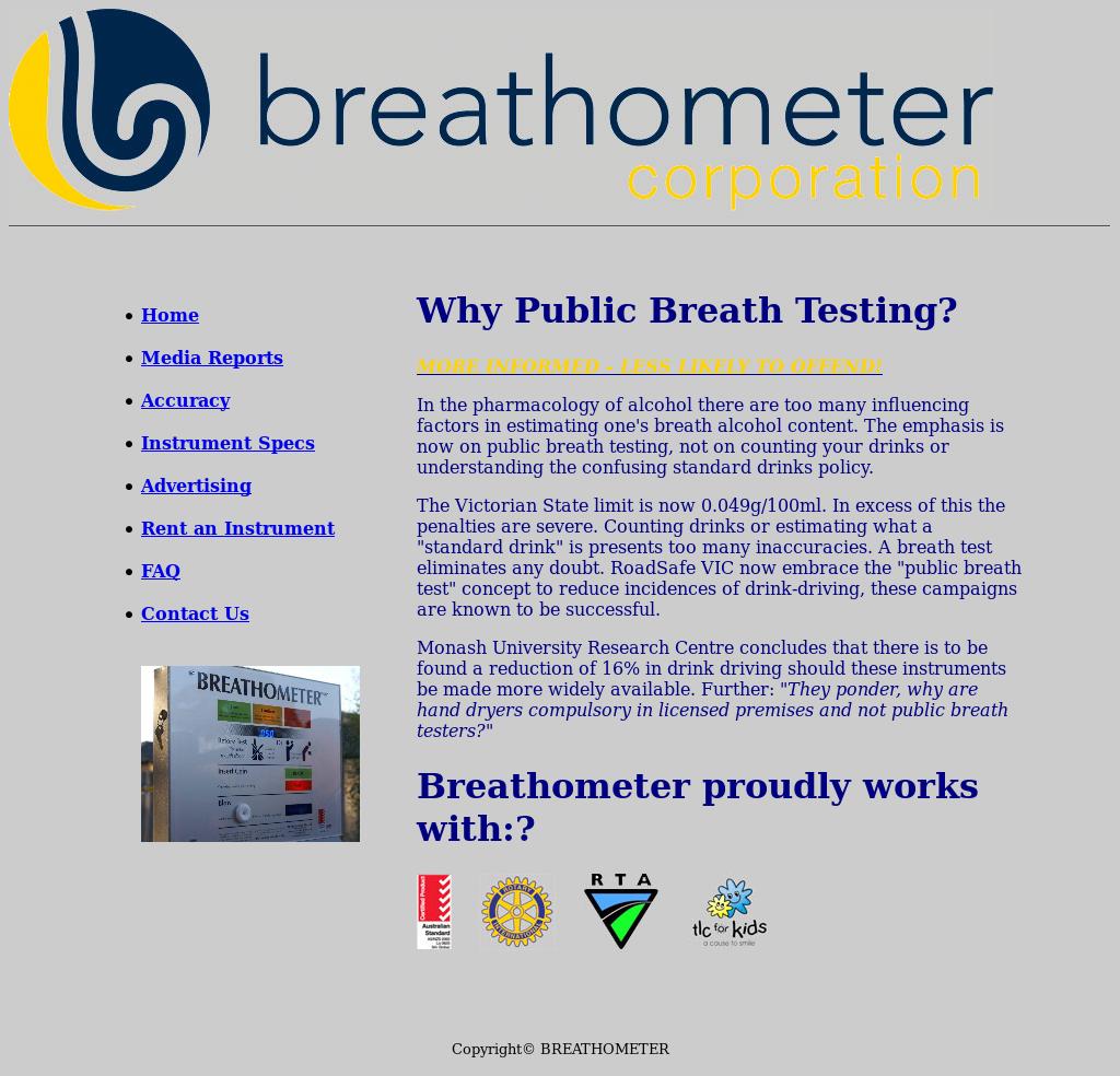 Breathometer com