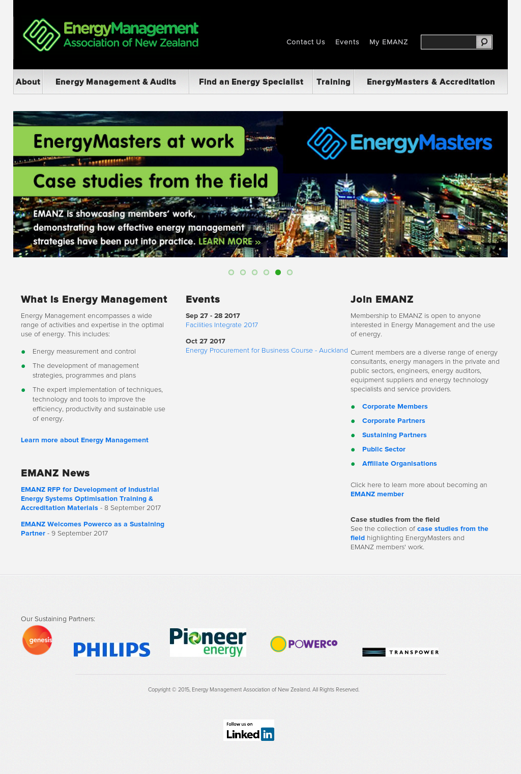 Energy Management Association Of New Zealand Competitors