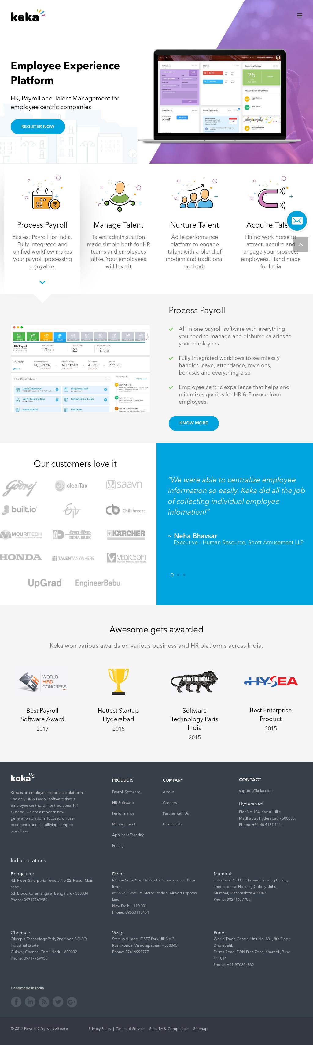 Keka Competitors, Revenue and Employees - Owler Company Profile