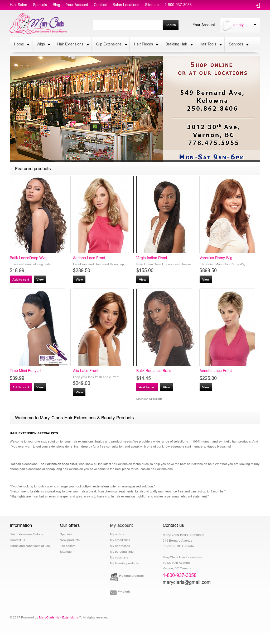 Maryclaris Hair Extensions Competitors Revenue And Employees