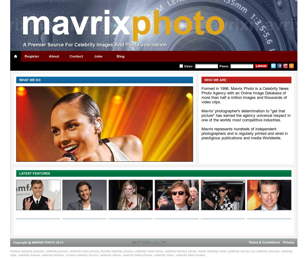 Mavrix online dating