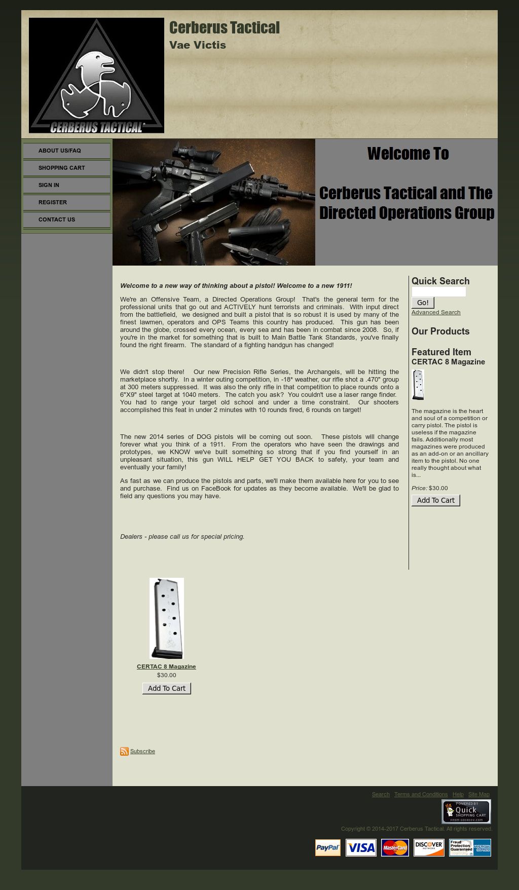 Cerberus Tactical Competitors, Revenue and Employees - Owler