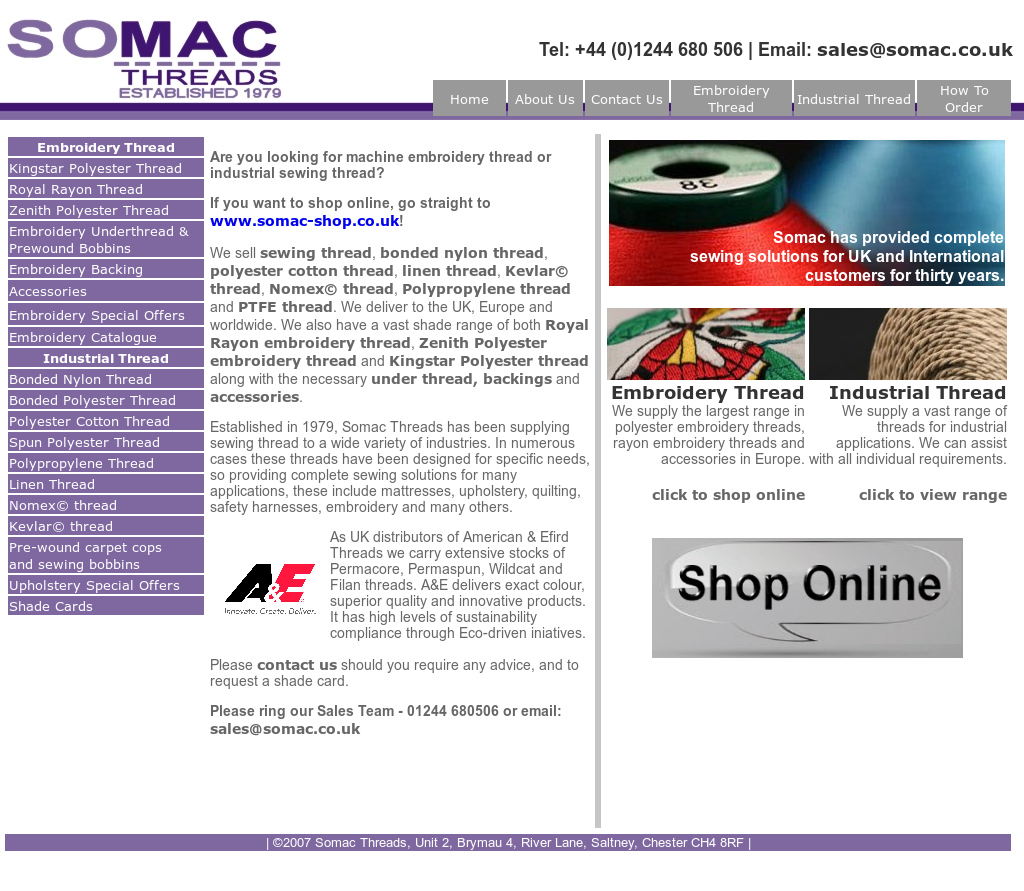 Somac Threads Competitors, Revenue and Employees - Owler
