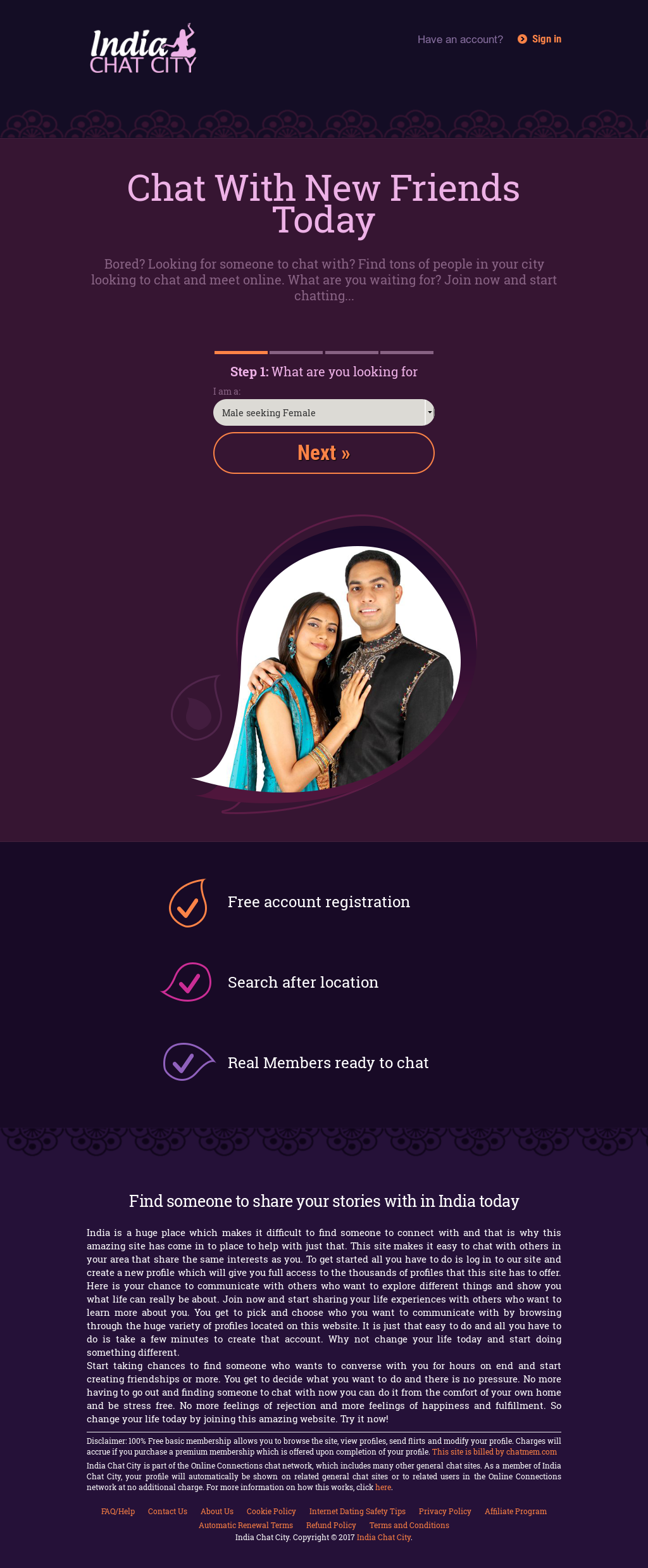 online συνομιλία dating Ινδία